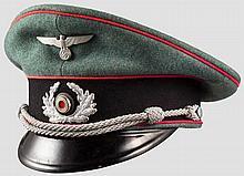 Schirmmütze für Angehörige der Feuerlöschpolizei ab 1941