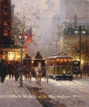 A NATION'S DREAM BY G. HARVEY - GICLEE CANVAS LIMITED EDITION