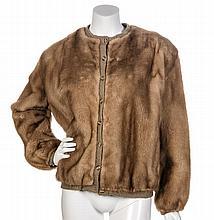 A Pierre Balmain Mink Sweater Jacket,