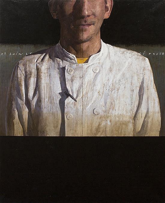 Francois Bard, (French, b. 1959), Le Garde de la Nuit, 2002