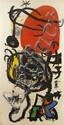 Joan Miro, (Spanish, 1893-1983), L'Halterophile, 1975