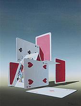 * Norman Black, (British, 1920-1999), Playing Cards