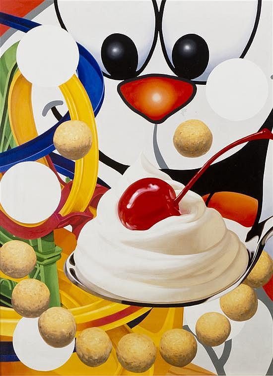 Jeff Koons, (American, b. 1955), Loopy, 2000