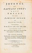 COOK, JAMES CAPT.. Journal of Captain Cook's Last Voyage to the Pacific Ocean... London, 1781. Second ed.