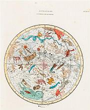 (MAP, CELESTIAL). A group of 8 color engraved celestial prints by various artists.