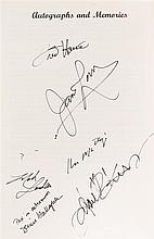(SWIGERT, JACK) APOLLO 13. Autographed document signed by the crew of the Apollo 13 mission, Fred haise, James Lovell, & Ken Mattingly.