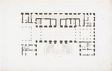(ARCHITECTURE) GAUTHIER. Les plus beaux edifices de la Ville de Genes. Paris, 1818. 2 vols. With 102 plates.