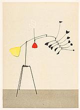 CALDER, ALEXANDER. Mobiles, stabiles, constellations. Paris, 1946. First edition, inscribed. W/four original lithos.