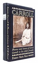 * (DODGSON, CHARLES LUTWIDGE) CARROLL, LEWIS. Lewis Carroll. Photos and Letters to His Child. Friends. (Parma), 1975.