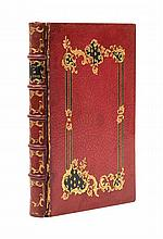 (FINE BINDINGS) DORAT, CLAUDE JOSEPH. Les Baisers, ou collection de petits poemes erotiques. Hague and Paris, 1770.