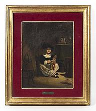 Attributed to Jean Pierre Thiboust, (French, 1763-1824), Child with Doll
