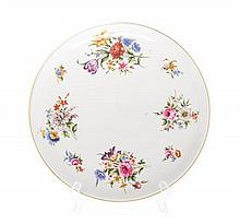 Royal Worcester Warming Plate Diameter 12 5/8 inches.