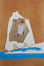 After Robert Motherwell, (American, 1915-1991), Untitled Collage