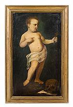 Attributed to Pietro Liberi, (Italian, 1614-1687), Infant John the Baptist