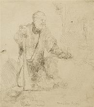 Rembrandt van Rijn, (Dutch, 1606-1669), St. Peter in Penitence, 1645