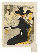 * Henri de Toulouse-Lautrec, (French, 1864-1901), Divan Japonais (plate 2 from Les maitres de l'affiche)