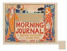 Louis John Rhead, (American, 1857-1926), Morning Journal (plate 220 from Les maitres de l'affiche)