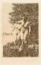 Anders Zorn, (Swedish, 1860-1920), Alder, 1917
