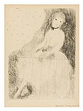 * Marie Laurencin, (French, 1885-1956), Seated Woman