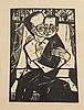 * Erich Heckel, (German 1883-1970), Geschwister (from Elf Holzschnitte), 1913, Erich Heckel, $0