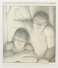 George Tooker, (American, 1920-2011), Window