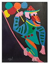 Karel Appel, (Dutch, 1921-2006), Monkey (from Circus)