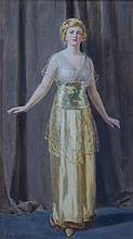 * John Collier, (British, 1850-1934), Gladys Cooper