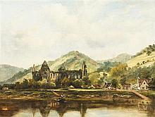 * Attributed to Frederick William Watts, (British, 1800-1870), Tintern Abbey
