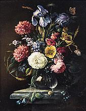 * Josef (Oskar Becker) Osbeck, (German, 1898-1938), Floral Still Life
