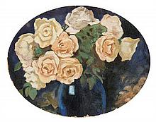 Alfons Karpinski, (Polish, 1875-1961), Still Life with Roses