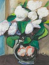 Wojciech Weiss, (Polish, 1875-1950), Still Life with Flowers