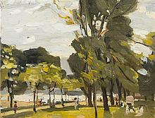 Attributed to Jean-Baptiste Armand Guillaumin, (French, 1841 - 1927), Park Study