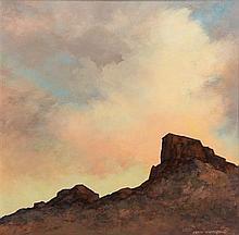 * Jean Parrish, (American, 1911-2004), Desert Scene