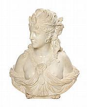 * An Italian Marble Bust of