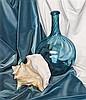 * Luigi Lucioni, (American/Italian, 1900-1988), Blue and White Variations, 1965, Luigi Lucioni, $0