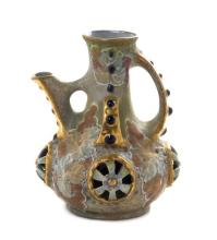 An Amphora Pottery Ewer Height 7 inches.