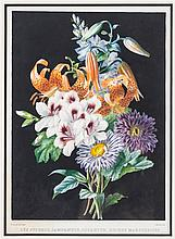 Margaret Rundle, (20th Century), Floral Still Lifes, after Bessin (two works)