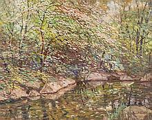 Robert Emmett Owen, (American, 1878-1957), Dogwoods in Bloom