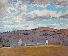 Robert Emmett Owen, (American, 1878-1957), Hilllside Farm