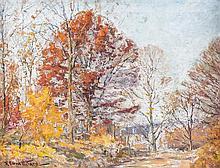 Robert Emmett Owen, (American, 1878-1957), Red Oak