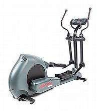 A Life Fitness 2500 HR Elliptical Machine Height overall 62 1/2 inches.