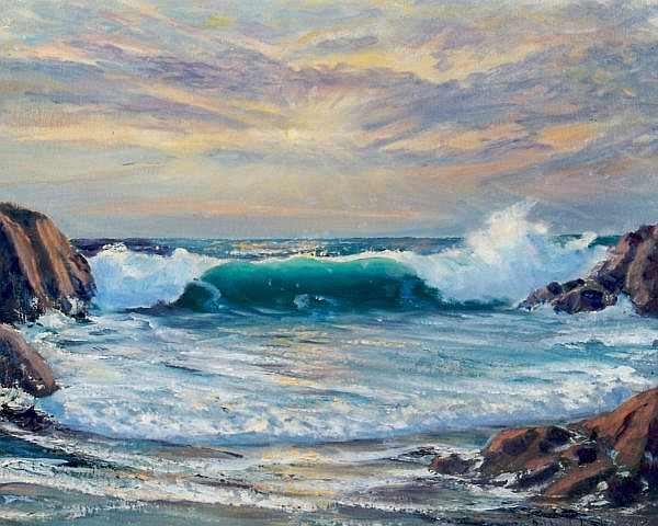 Roscoe Lloyd Babcock, (American, 1897-1981), California Sunrise