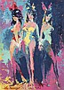 * Leroy Neiman, (American, 1921-2012), Three Grace's, 1965