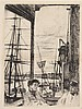 * James Abbott McNeill Whistler, (American, 1834-1903), Rotherhithe, 1860, James Abbott McNeill Whistler, $0