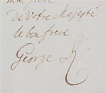 * GEORGE II. ALS (