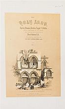 ROBERTS, DAVID. The Holy Land, Syria, Idumea, Arabia, Egypt and Nubia. London, 1855. 6 vols. in 3. With 227 lithographed plates.