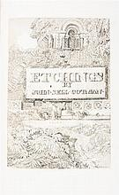 (ARCHITECTURE) COTMAN, JOHN SELL. Specimens of Architectural Remains in Various Counties... London, 1838.  2 vols.