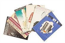 * (ADVERTISING) ADVERTISING ARTS. Ed. by Frederick Kendell. NY, 1931-1935. 18 issues (1 duplicate)