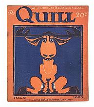 * THE QUILL. A Magazine of Greenwich Gillage. Ed. by Robert Edwards. 30 issues. 1918-1925. With one other. (31 total)