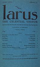 * LARUS. The Celestial Visitor. Lynn, MA, 1927-1928. 7 nos. (in 5 issues) bound in one vol.